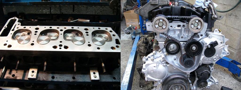 Motorinstandsetzung-Zylinderkopfplanung